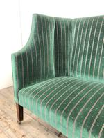 Edwardian Upholstered Wing Back Couch (2 of 9)