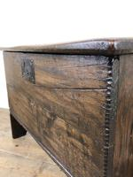 Small 18th Century Joined Oak Coffer (13 of 18)