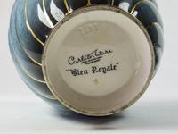 Rare Vintage Carlton Ware 'bleu Royale' Covered Urn (4 of 4)