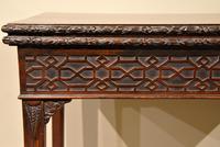18th Century Carved Mahogany Tea Table (7 of 7)