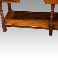 Antique Oak Small Dresser Base (11 of 11)