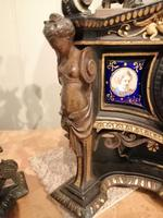 Superb Quality & Unusual French Clock Garniture (5 of 19)