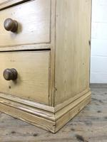 Small Victorian Antique Pine Chest of Drawers (7 of 15)
