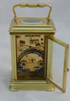 Elkington London Gorge Case Carriage Clock & Box (5 of 5)