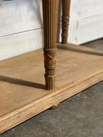 Wonderful French Walnut Console Table (30 of 36)