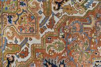 Antique Heriz roomsize carpet 338x241cm (2 of 6)
