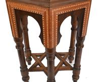 Damascan Side Table Octagonal Arabic Interiors Inlay (4 of 10)