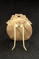 Small Edwardian Brass Oval Easel Photo Frame (4 of 4)