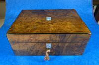 Victorian Jewellery Box in Burr Walnut (10 of 12)