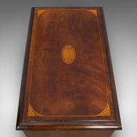 Antique Stationery Rack, Mahogany, Desk, Correspondence, Asprey London c.1910 (10 of 12)