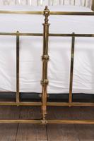 Fabulous Quality Victorian King Size all brass bed (2 of 9)