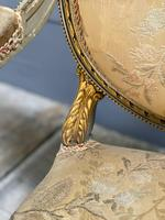 Super Pair of French Upholstered Armchairs (9 of 26)