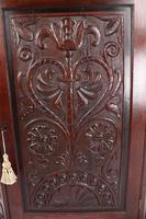 Victorian Gothic Revival Oak Corner Cupboard (8 of 13)