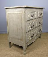 Attractive Hand Painted French Chest of Drawers (3 of 8)