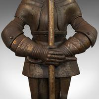 Antique Fire Companion, English, Steel, Knight, Fireside Tools, Victorian, 1900 (11 of 11)