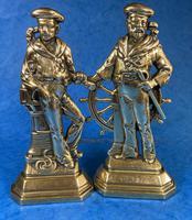 Pair of Victorian Brass Door Stops (11 of 16)