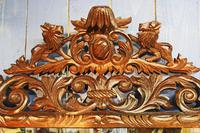 Large 19th Century Black Forest Carved Mirror (12 of 12)