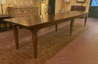 Large Monastery Table From 4m Long-19th Century-netherlands (2 of 9)