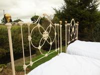 Pretty Pair of Victorian Large Single Beds Seventh Heaven (8 of 11)