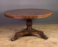 Fantastic Large William IV Mahogany Dining Table (6 of 10)