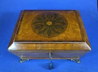 Regency Burr Maple  Jewellery Box With Inlay (13 of 16)