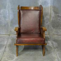 Pair of Elm Lambing Chairs (3 of 8)