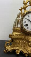 Japy Freres Gilt Mantle Clock (2 of 8)