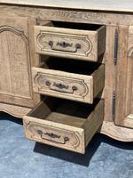 French Bleached Oak Sideboard or Dresser Base (19 of 23)