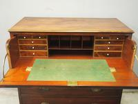 Inlaid Mahogany Secretaire Chest of Drawers (10 of 13)