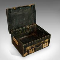 Antique Travel Case, Leather, Salesman's Suitcase, JW Allen, Strand, Edwardian (4 of 12)