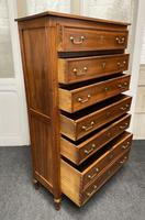 18th Century French Fruitwood Tall Chest of Drawers (4 of 18)