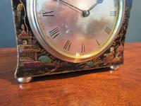Small Edwardian Chinioserie Mantel Clock (3 of 8)