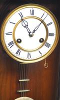 Victorian 8-day Wall Clock – Antique Striking Vienna Wall Clock by Hac (14 of 14)