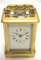 Fine Antique French 8-day Carriage Clock Timepiece - Interesting & Rare Size c.1870 (12 of 13)