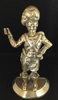Victorian Brass Scottish SoldIer Door Stop (8 of 8)
