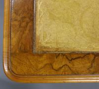 Quality 19th Century Walnut Pedestal Desk (5 of 6)