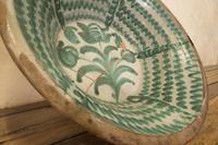 "Large Late 18th Century Spanish Granada Fajalouza ""Lebrillo"" Bowl (9 of 11)"