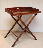 Late 19th Century Mahogany Butlers Tray (5 of 9)