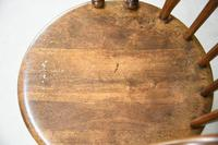 Antique Beech Spindle Back Penny Carver Chair (8 of 11)