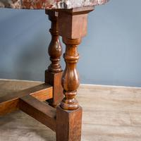 Pair of Marble Top Console Tables (4 of 10)