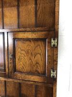 Large 20th Century Georgian Style Oak Dresser (14 of 23)