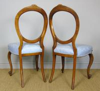Pretty Pair of Victorian Balloon Back Chairs (5 of 6)