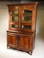 A Massive Mid 19th Century Provence Ash and Ash/Walnut Glazed Cupboard (4 of 4)