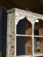 French Scraped Paint Wall Shelves or Display Box (3 of 17)