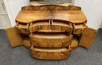 Burr Walnut Art Deco Dressing Table (4 of 14)