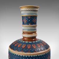 Pair of Antique Decorative Vases, German, Ceramic, Villeroy & Boch, Victorian (12 of 12)