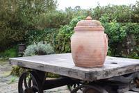 Large Earthenware Lidded Storage Jar (2 of 10)