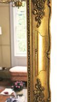 Antique Large Quality 19th Century Gilt Wall Mirror Overmantle (8 of 10)