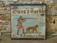Advertising Sign 'Guns and Tackle' (6 of 6)