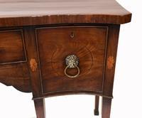 Georgian Sideboard Antique Mahogany Buffet Server 1780 (3 of 5)